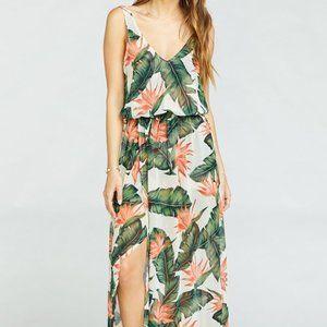 NWT Show Me Your MuMu Kendall Maxi Dress